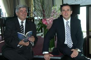 Jose Pedro Landaverde y Leonardo Kourchenko