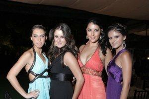 Aileen Ruelas, Fernanda Ortiz, Jimena Lanz y Regina Ruelas
