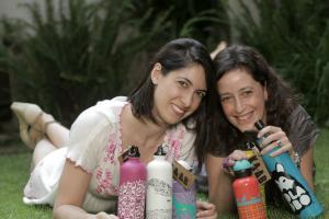 Mónica Gutiérrez y Lesly Méndez