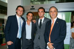 Apoyan la causa: Joaquín Quintana, javier Chávez Ruíz, Iñaki Quintana y Joaquín Quintana Pérez