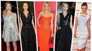 Mientras Kate Bosworth nos demuestra el poder de los minivestidos, Angelina Jolie y Elizabeth Banks deslumbran en Atelier Versace.