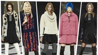 En su última colección para Chanel, Karl Lagerfeld mostró una vez más porque es uno de los diseñadores más grandes del mundo de la moda