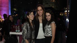 Alejandra Malagón, Stephanie Heinemann y Maritere Vargas.