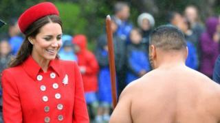 Kate en Nueva Zelanda