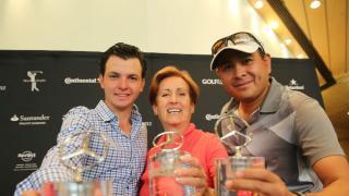 Aldo Gómez, Carmen Bliss y Jorge Sandoval.