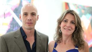 Arturo Figueroa y Claudia Arias.