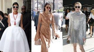 Lentejuelas y mucho brillo para el día; delicados vestidos veraniegos combinados con botas toscas y el omnipresente estilo noventero, formaron parte de los mejores looks de las famosas, en la primera semana de julio.