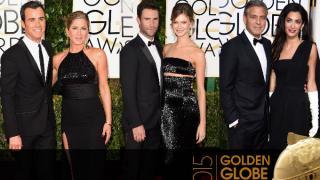 Noche de parejas en los Golden Globes 2015