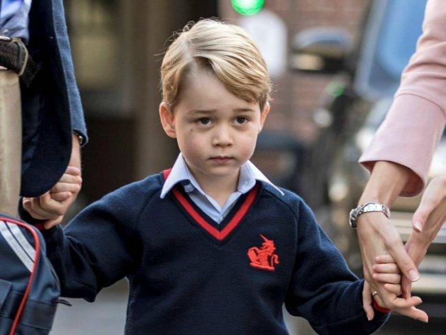 El príncipe George no utilizará su título real en la escuela