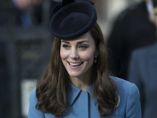 Kate Middleton lució su pancita de embarazada en su última aparición pública