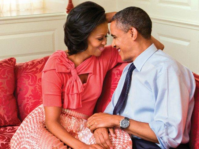 Michelle Obama envía mensaje de amor para Barack