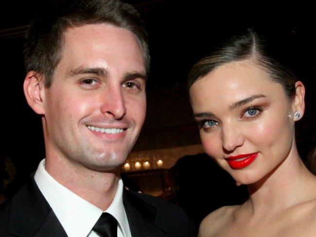¡Nace el hijo de Miranda Kerr y Evan Spiegel!
