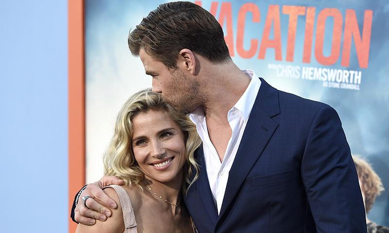 Chris Hemsworth admite altibajos con su esposa