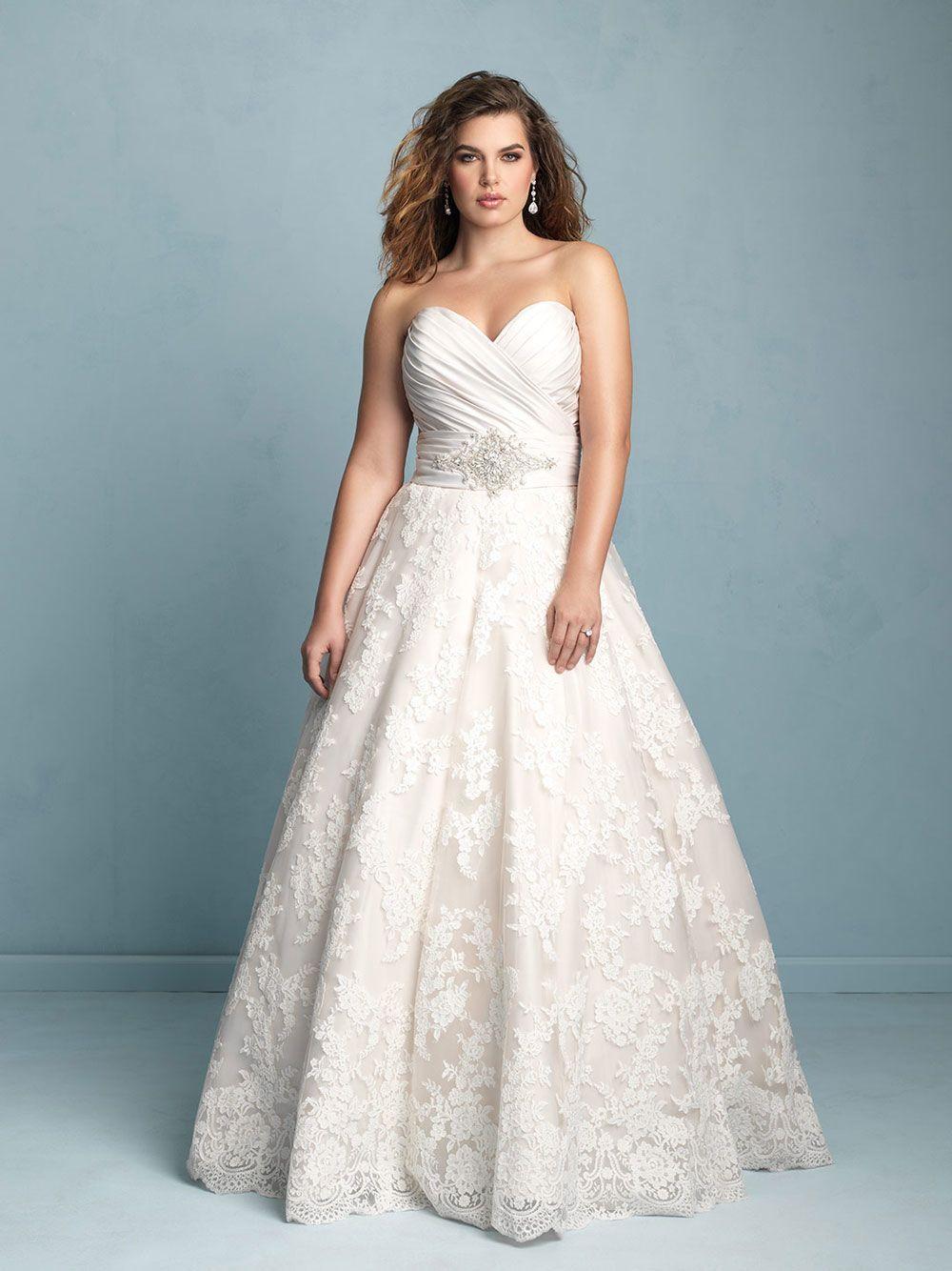 Vestidos de novia para chicas curvy | RSVPOnline