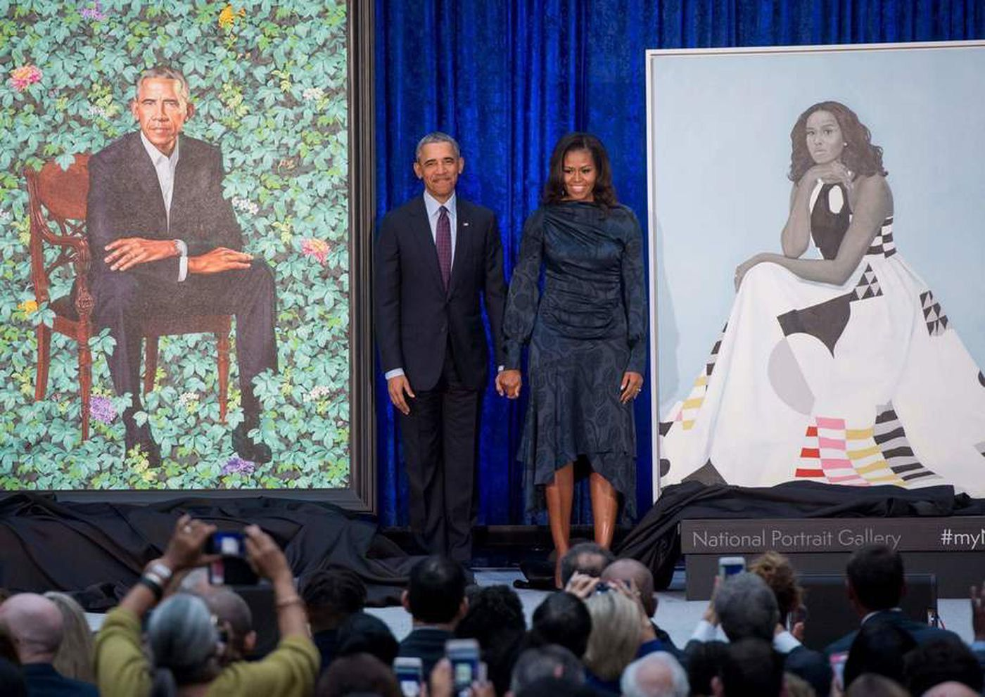 BARACK-Y-MICHELLE-OBAMA-RETRATOS