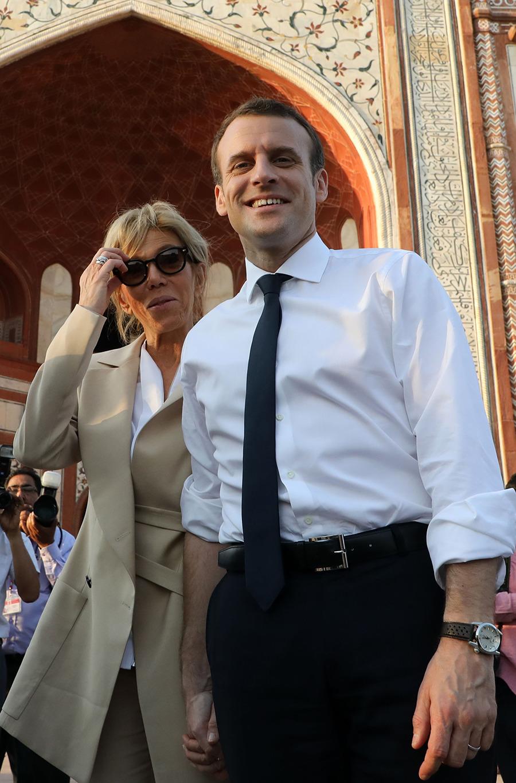 Brigitte-Macron-Taj-Mahal4