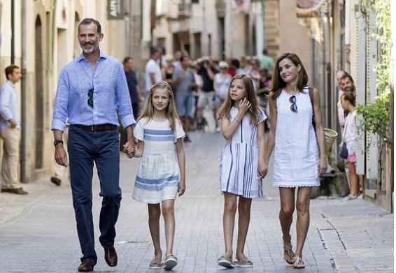familia-real-española
