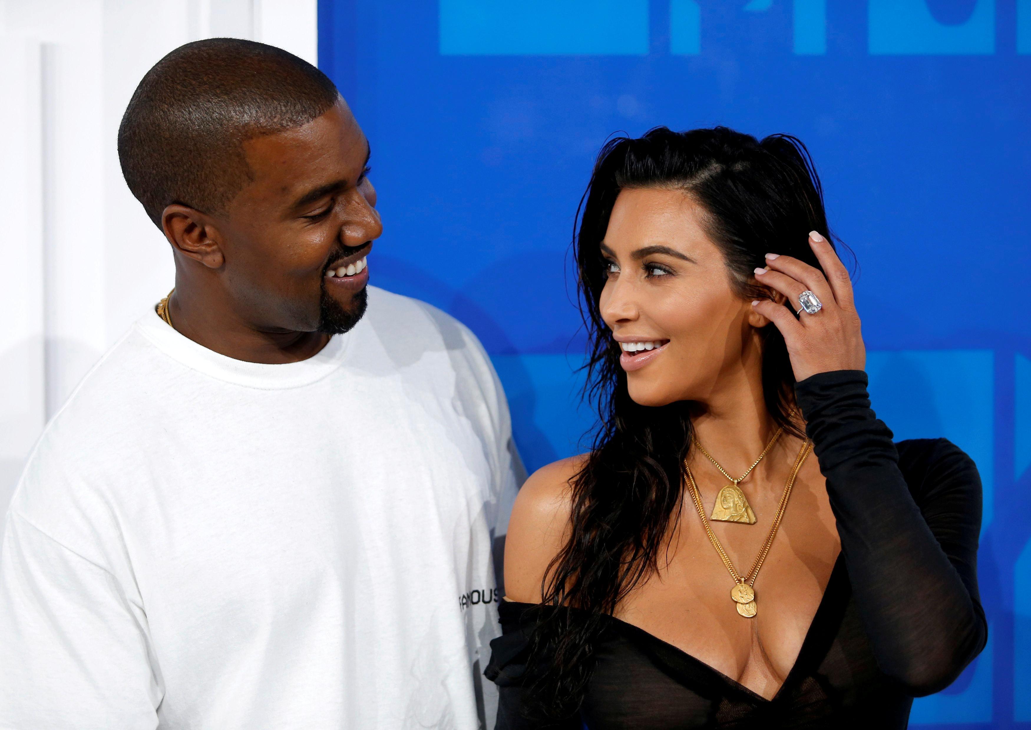 Kim-y-Kanye-west