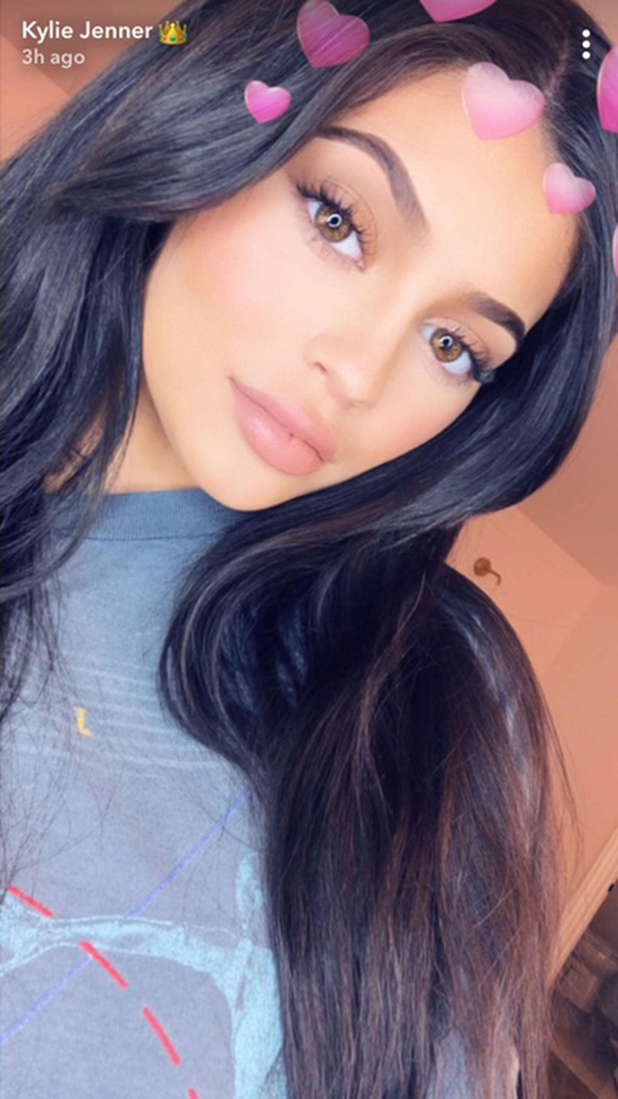 kylie-jenner-Snapchat