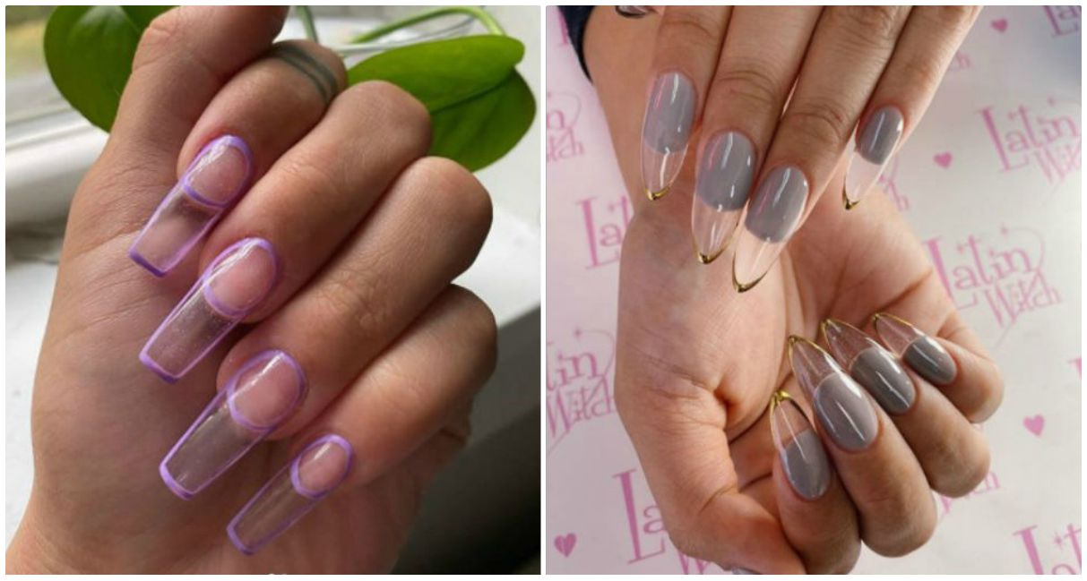 Manicura francesa doble: la nueva tendencia para uñas que