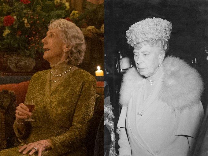 Aileen Atkins es la Reina Mary, abuela de la Reina Isabel II