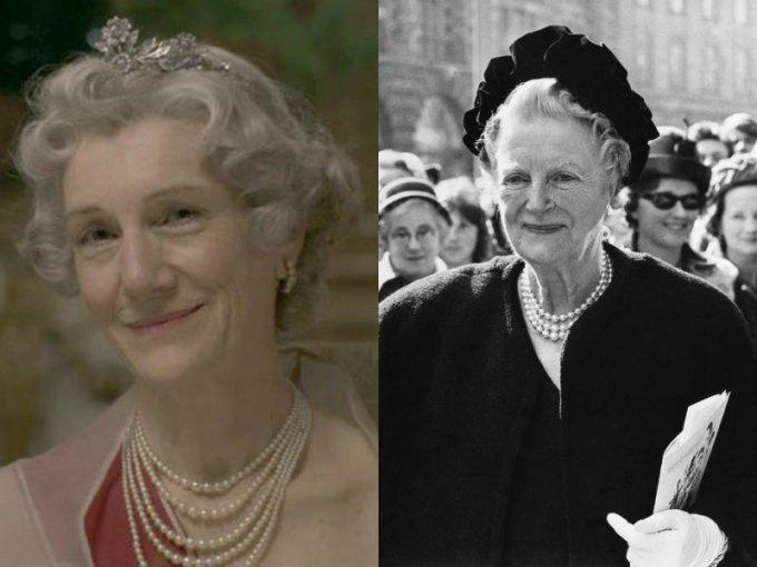 Harriet Walter es Clementine, esposa de Churchill