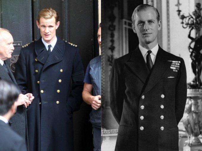 Matt Smith es el consorte de la Reina, Felipe de Edimburgo
