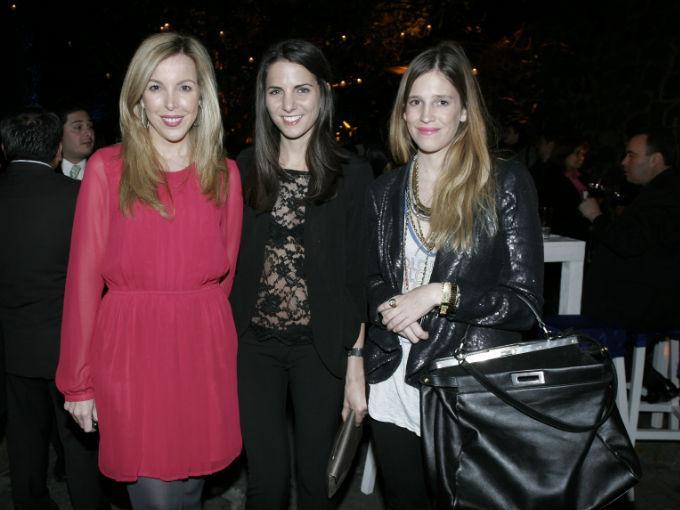Eva Hughes, Kelly Talamas y Daniela Von Woobeser