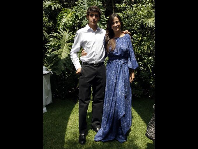 Emiliano Ojeda y Paulina Mercado