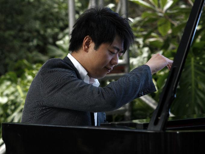 El famoso pianista chino Lang Lang