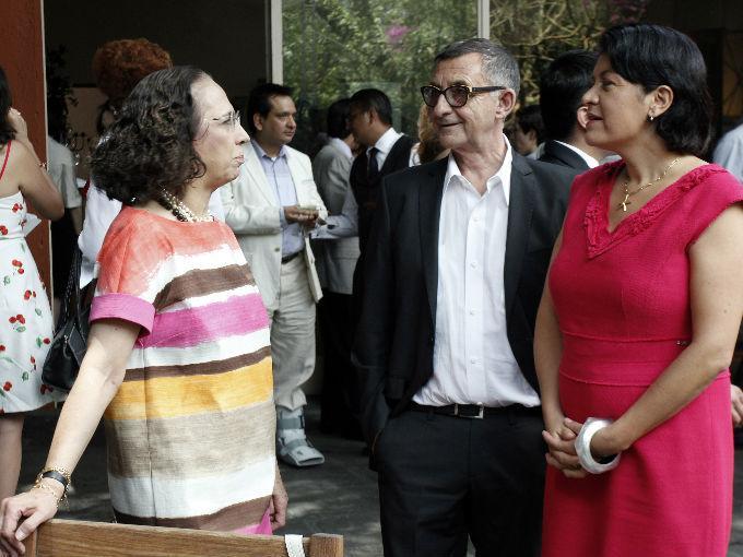 Bertha Cea, Luis Adelantado e Hilda Trujillo