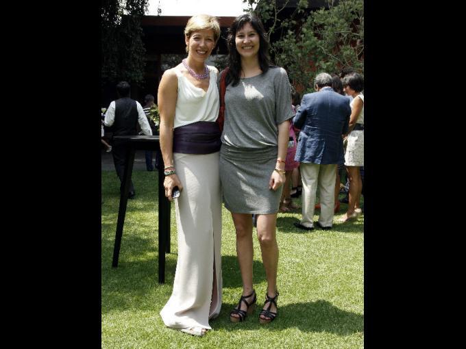 Mónica Cervantes y Margarita Hernández