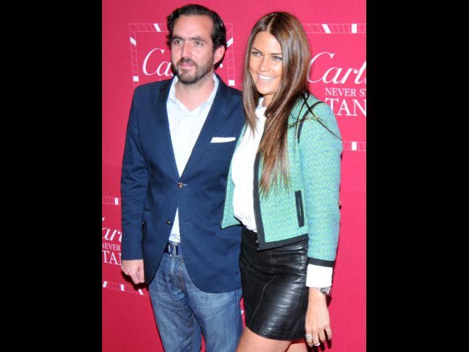 Santiago Lebrija y Galia Sandler