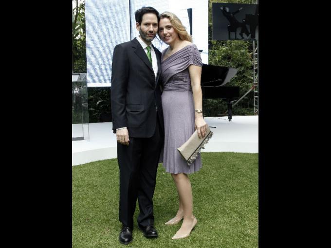 Juan Carlos del Valle y Tessa Mujica