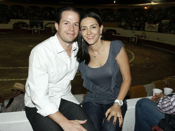 Michel Desdier y Brenda Gutiérrez