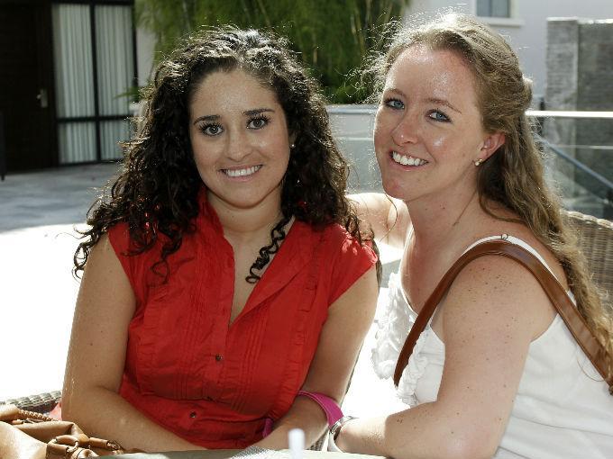 Jimena Ruiz y Ana Paula González