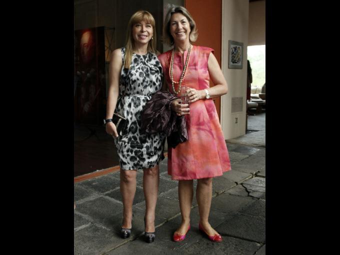 Beatriz Cuevas y Marie Thérèse Arango