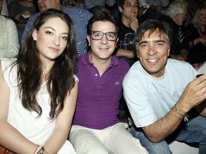 Mariana Aguirre, Roberto Garagarza y Ricardo Serratos