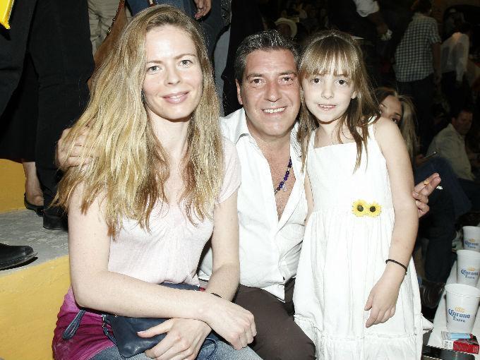 Elin Saetersdal con Francisco y Daniela Rosendo