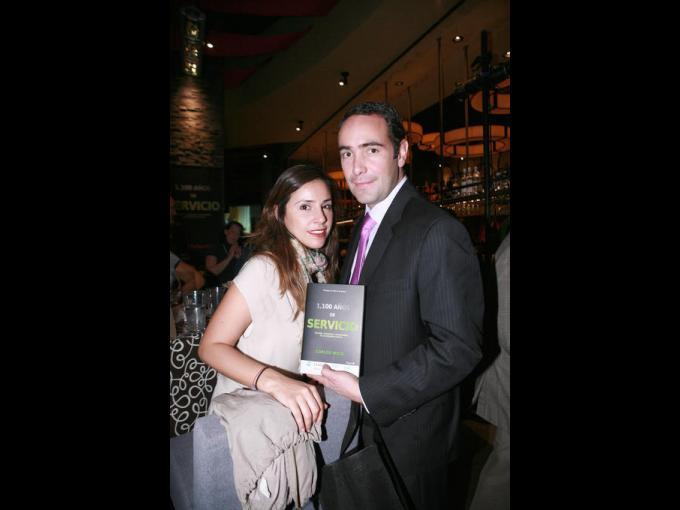 Roxana Caro y Jesús Briseño