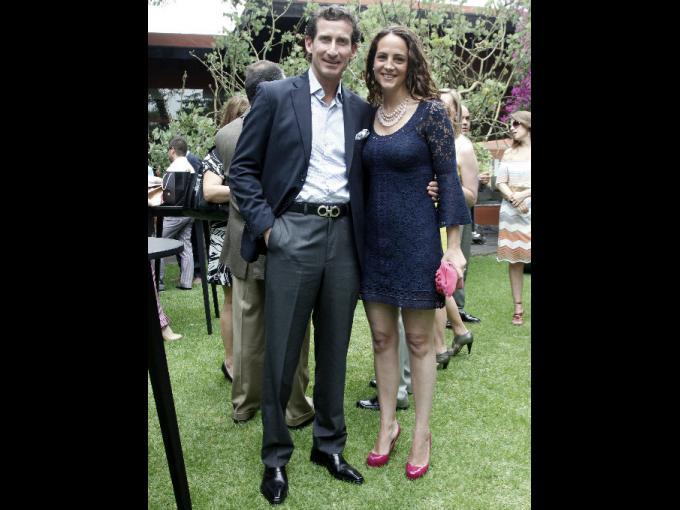 Federico Alamán y Cristina Gorozpe