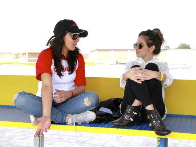 Siria Burgos y Karina Torres