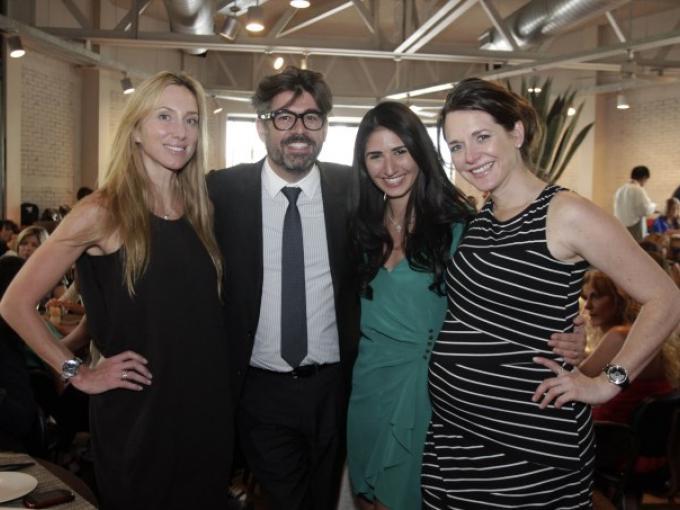 Francoise Levertu, Carlos Salcido, Nathalie Baaklini y Marcela Teutli