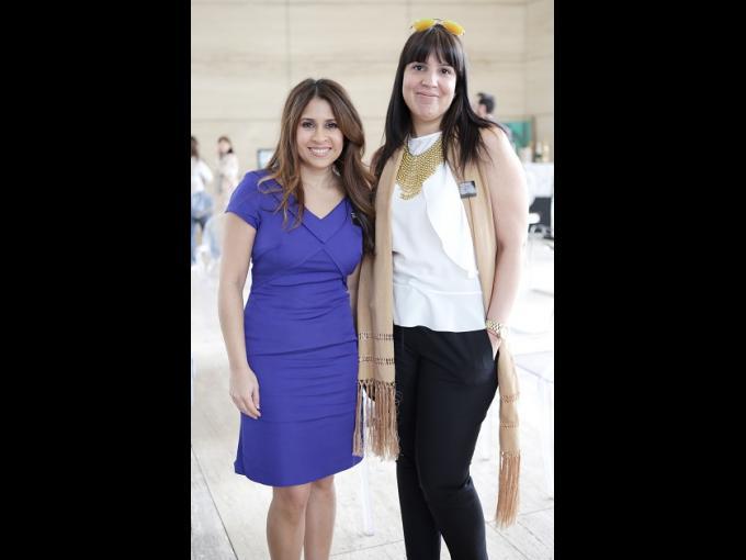 Aarti Vaswani y Roxana Rabinovich