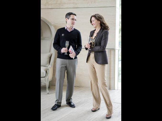 Mario Jobbe y Sandra Chollet