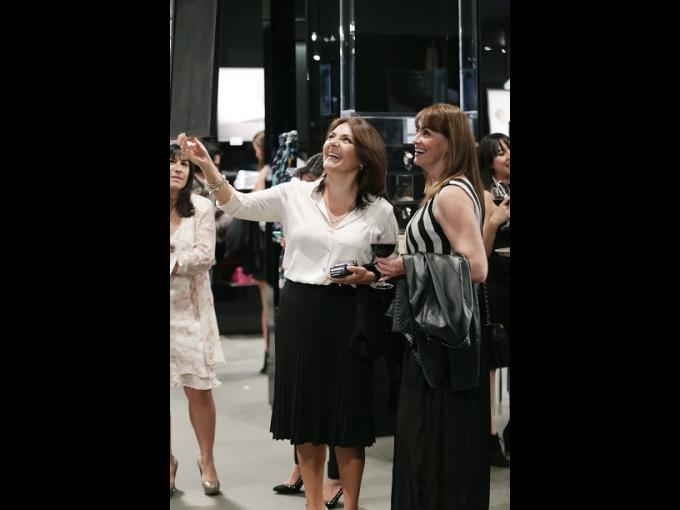 Ingrid Aizpuru con Lucía Altamirano