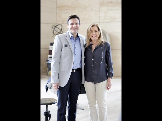 Charlie Mario y Marcela Lembert