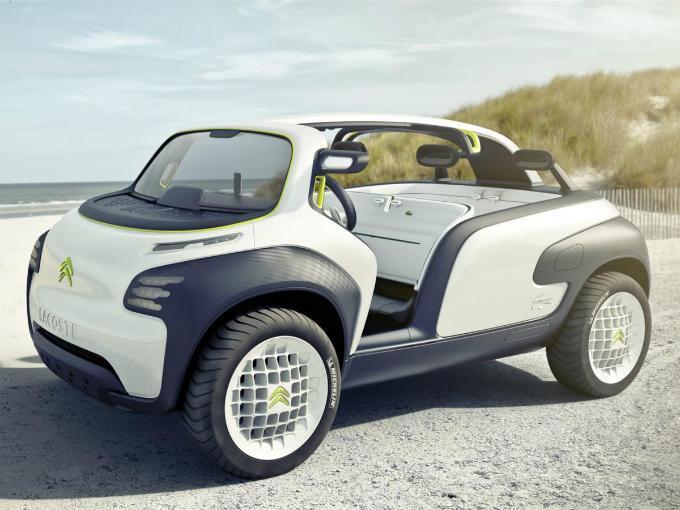 Bajo el concepto de elegancia y moda, Citroën realizó el concept car Citroën Lacoste.