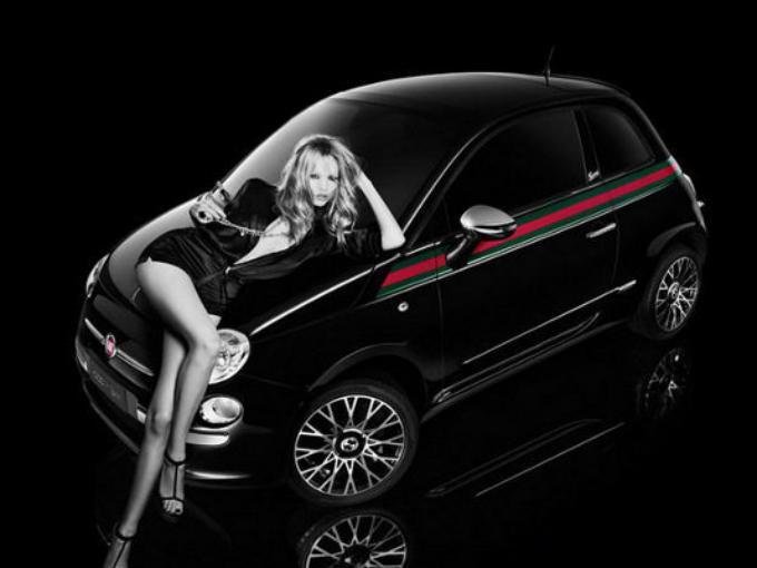 Flat 500 by Gucci. Un auto con interiores y exteriores elegantes