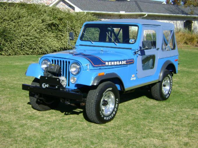 Jeep CJ7 by Levi´s, es sin duda una de las mejores cosas americanas que hemos visto y que sin duda es encantador.
